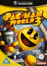 Pac-Man World 3 GameCube cover (GP8P69)