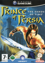 Prince of Persia: The Sands of Time GameCube cover (GPTP41)
