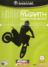 Jeremy McGrath SuperCross World GameCube cover (GSCP51)