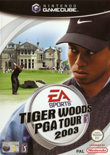 Tiger Woods PGA Tour 2003 GameCube cover (GTIP69)
