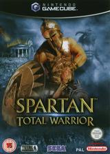 Spartan Total Warrior GameCube cover (GWAP8P)