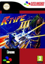 R-TYPE III: The Third Lightning VC-SNES cover (JAHP)