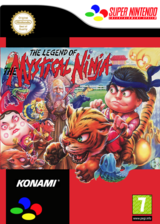 The Legend of the Mystical Ninja VC-SNES cover (JAZD)