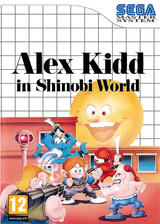Alex Kidd in Shinobi World VC-SMS cover (LAQP)