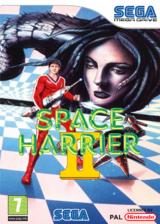 Space Harrier II VC-MD cover (MAIP)