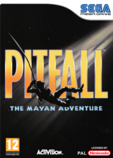 Pitfall: The Mayan Adventure VC-MD cover (MCVP)