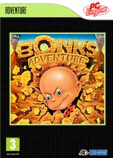 Bonk's Adventure VC-PCE cover (PABP)