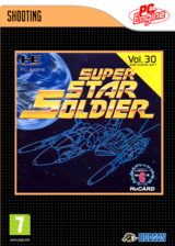 Super Star Soldier VC-PCE cover (PAEP)