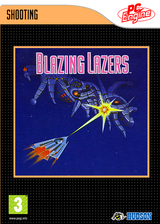 Blazing Lazers VC-PCE cover (PB8P)