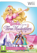 Barbie and the Three Musketeers Wii cover (R23P52)