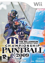 Millennium Series Championship Paintball 2009 Wii cover (R29P52)