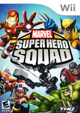 Marvel Super Hero Squad: Walmart Edition Wii cover (R38X78)