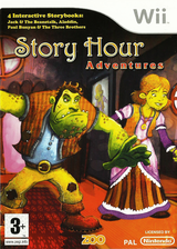 Story Hour: Adventures Wii cover (R3AP7J)