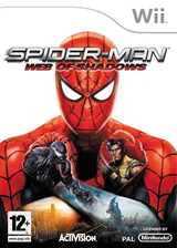 Spider-Man: Web of Shadows Wii cover (R3SP52)