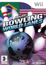AMF Bowling World Lanes Wii cover (R6WP68)