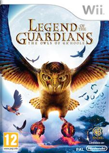Legend of the Guardians: The Owls of Ga'Hoole Wii cover (R9GPWR)
