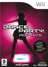 Dance Party Pop Hits Wii cover (R9RPNG)