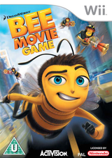 Bee Movie Game Wii cover (RBEP52)