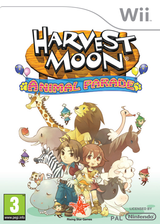 Harvest Moon: Animal Parade Wii cover (RBIP99)