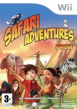 Safari Adventures Africa Wii cover (RFWPNK)