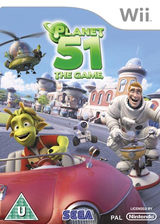 Planet 51: The Game Wii cover (RGAP8P)