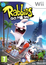 Rabbids Go Home Wii cover (RGWP41)