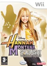 Hannah Montana: Spotlight World Tour Wii cover (RHQX4Q)
