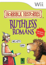 Horrible Histories: Ruthless Romans Wii cover (RIOPSU)