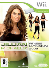 Jillian Michaels' Fitness Ultimatum 2009 Wii cover (RJFPKM)