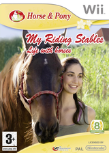 Horse & Pony: My Riding Stables Wii cover (RL2PFR)