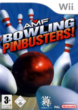 AMF Bowling Pinbusters! Wii cover (RMFP68)