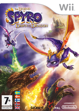 The Legend of Spyro: Dawn of the Dragon Wii cover (RO8X7D)