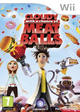 Cloudy with a Chance of Meatballs Wii cover (ROYX41)