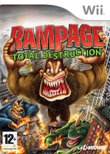 Rampage: Total Destruction Wii cover (RPGP5D)