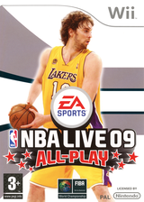 NBA Live 09 All-Play Wii cover (RQ9S69)
