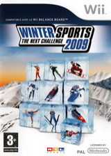 Winter Sports 2009: The Next Challenge Wii cover (RRUFRT)