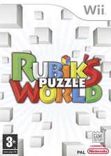Rubik's Puzzle World Wii cover (RRZPGY)