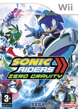 Sonic Riders: Zero Gravity Wii cover (RS9P8P)