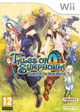 Tales of Symphonia: Dawn of the New World Wii cover (RT4PAF)
