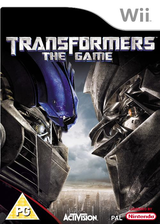 Transformers: The Game Wii cover (RTFY52)