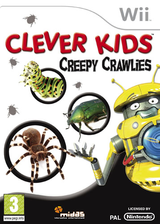 Clever Kids: Creepy Crawlies Wii cover (RV3P6N)