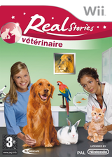 Real Stories: Veterinaire Wii cover (RVTFMR)
