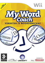 My Word Coach: Develop your vocabulary Wii cover (RWFH41)