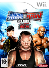 WWE SmackDown vs. Raw 2008 Wii cover (RWWX78)