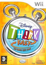 Disney Th!nk Fast: The Ultimate Trivia Showdown Wii cover (RXDD4Q)