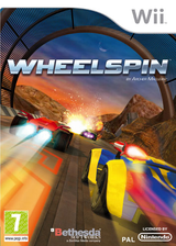 Wheelspin Wii cover (RZSP68)