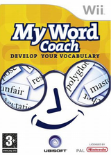 My Word Coach: Develop your vocabulary Wii cover (RZYF41)