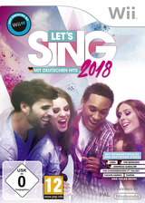 Let's Sing 2018 - Mit Deutschen Hits! Wii cover (S34DKM)