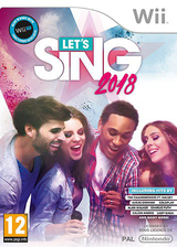 Let's Sing 2018 Wii cover (S34PKM)