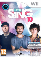 Let's Sing 10 Wii cover (S34SKM)